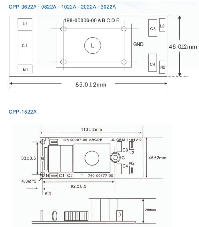 首页 电子元器件 压电晶体,频率元件 滤波器CPP  1.